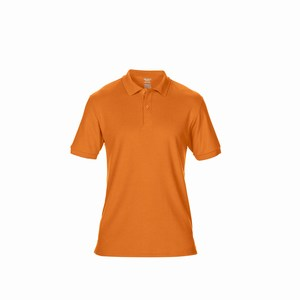 Gildan 75800 heren sport poloshirt safety orange