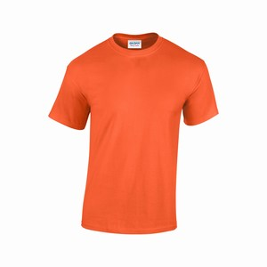 Gildan T-shirt Heavy Cotton for him orange GIL5000
