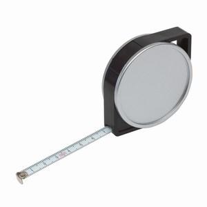 3 meter rolbandmaat Topy, zilver, zwart
