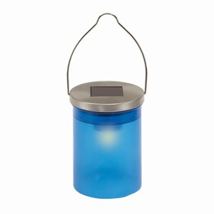 Solar lamp Celebration. Blauw.