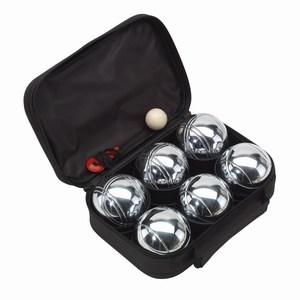 9-delig jeu de boules set Goliath, zwart