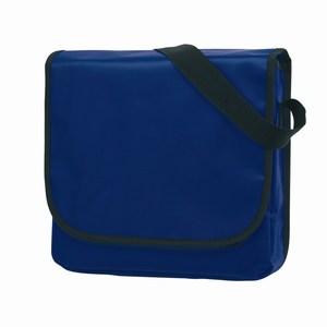 Trendy PVC schoudertas Clever, blauw