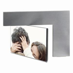 Aluminium fotolijstje Arc, zilver