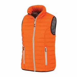 Bodywarmer HELSINKI voor dames , oranje